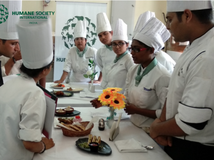 Humane Society International/India conducts 2-day plant-based culinary training program at IHM, Bhubaneshwar